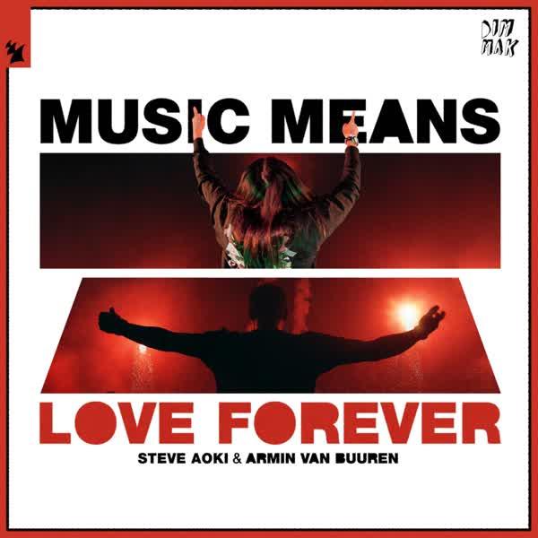 دانلود آهنگ Music Means Love Forever از Steve Aoki Ft Armin van Buuren