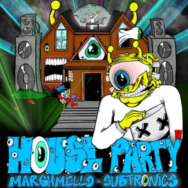 دانلود آهنگ House Party از Marshmello Ft Subtronics