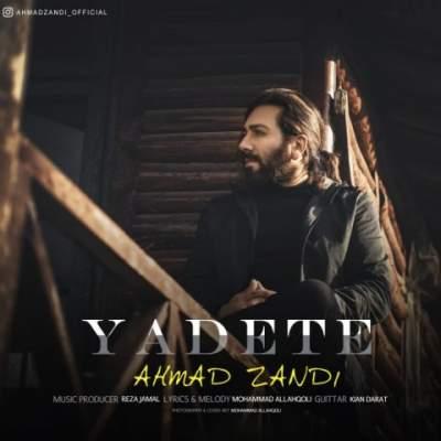 دانلود آهنگ یادته از احمد زندی