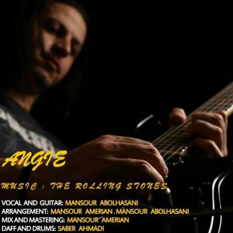 دانلود آهنگ Angie از منصور ابوالحسنی